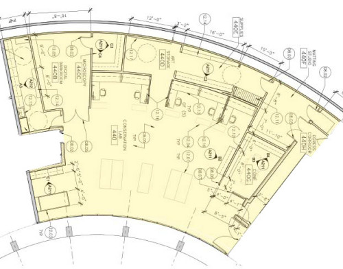 New Conservation Lab Floorplan
