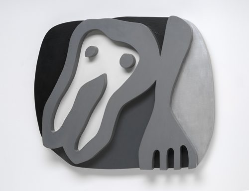 Shirt Front and Fork, 1922, Jean Arp