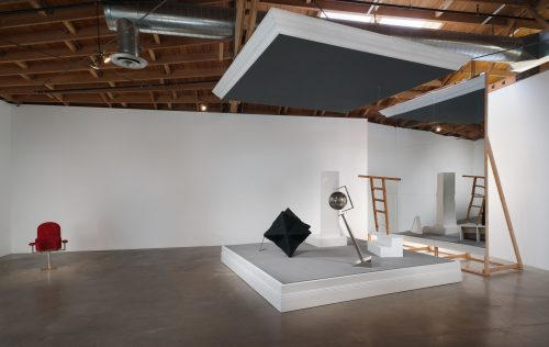 Shana Lutker, Installation view of 'The Bearded Gas'