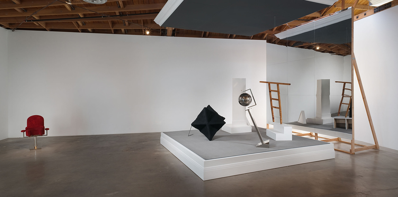 Shana Lutker, Installation view of 'The Bearded Gas' at Susanne Vielmetter Los Angeles Projects