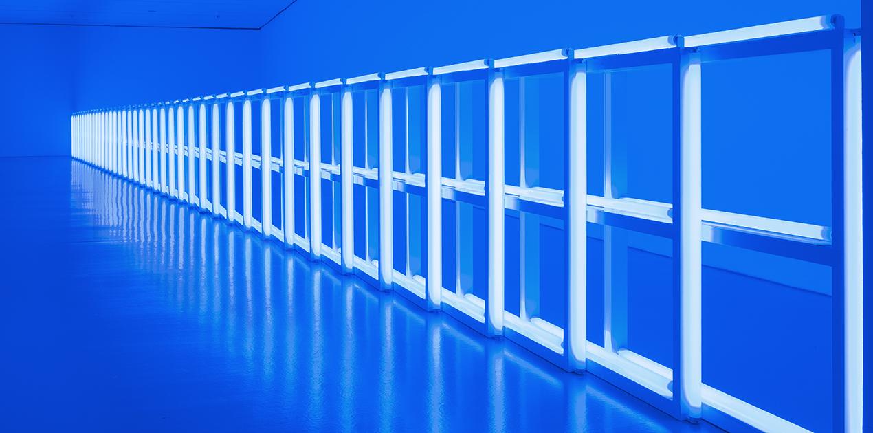 Dan Flavin: Installation Shot