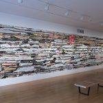 Mark Bradford, Matrix 172 Installation View