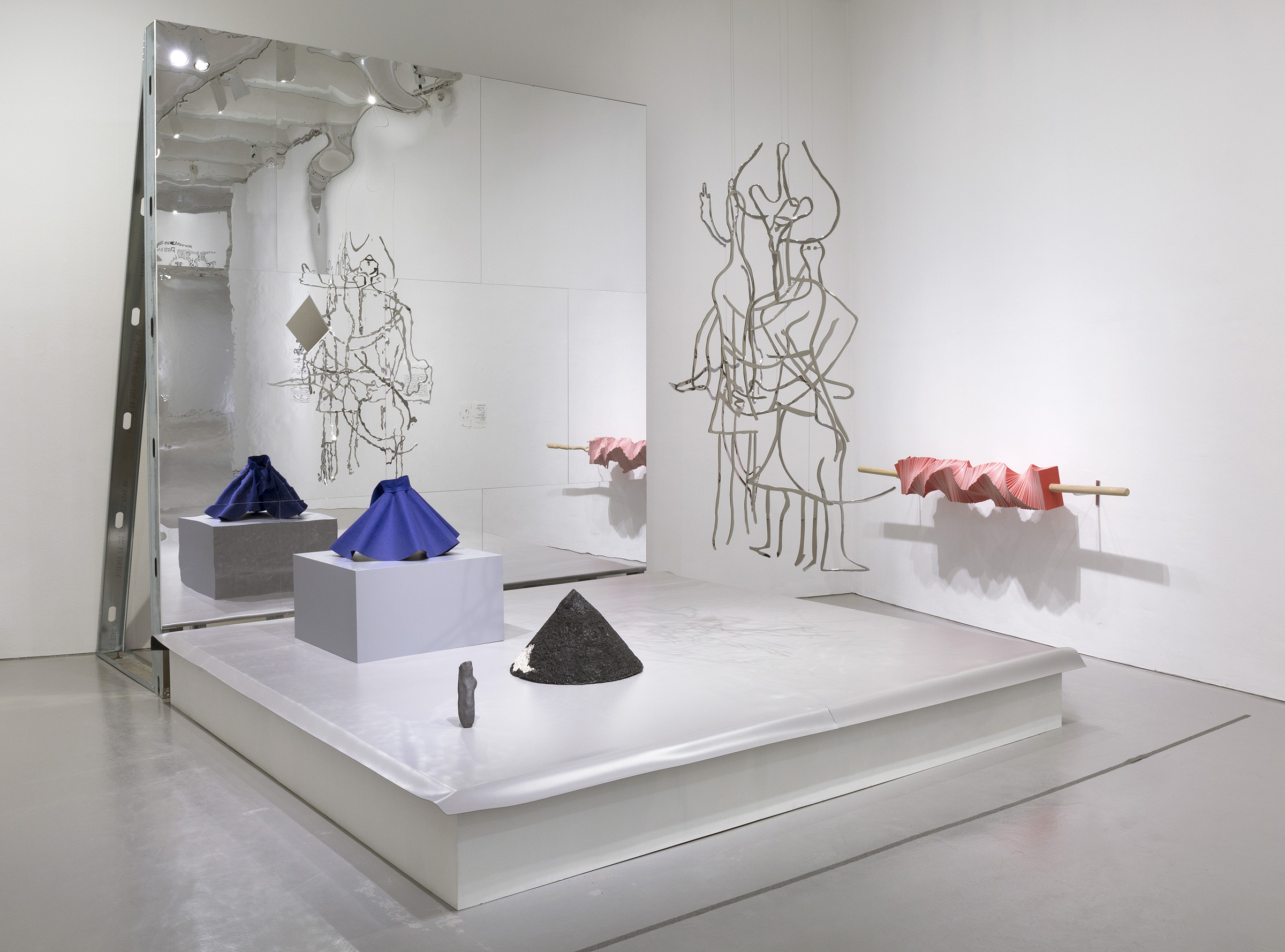 Shana Lutker installation view