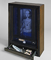 Joseph Cornell, Medici Princess, c. 1948–52. Hirshhorn Museum and Sculpture Garden. Museum Purchase, 1979. © The Joseph & Robert Cornell Memorial Foundation / VAGA, New York