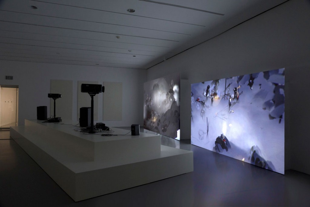 Ian Cheng Emissary in the Squat of Gods installation