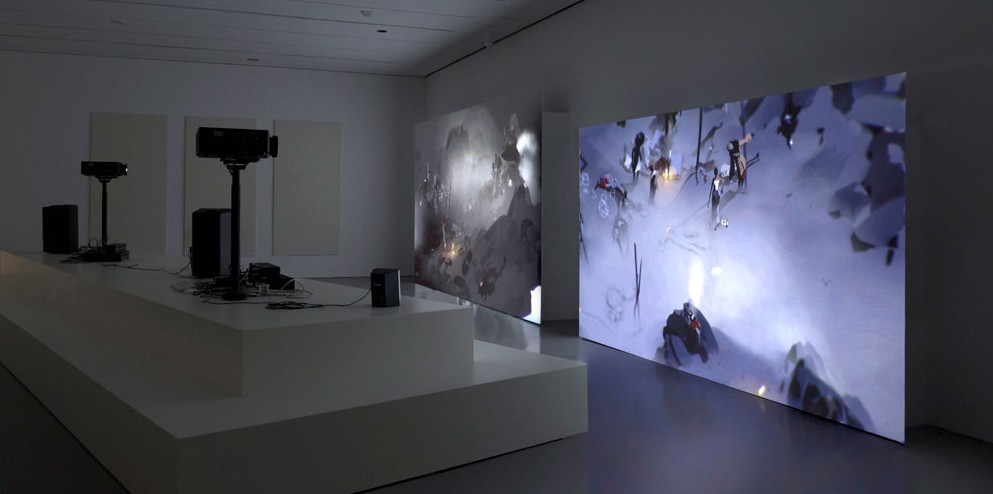 Ian Cheng Emissary in the Squat of Gods installation view