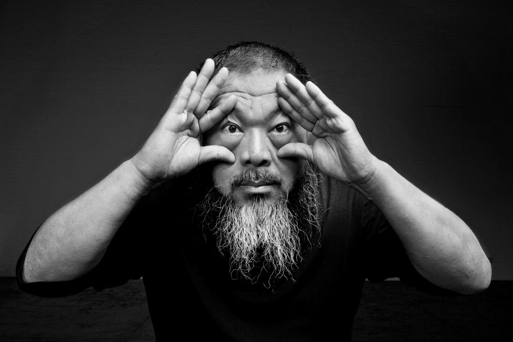 Portrait of Ai Weiwei. Image courtesy of Ai Weiwei Studio.