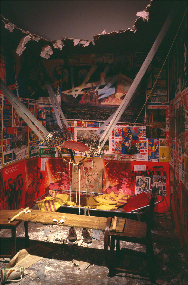 Ilya and Emilia Kabakov, The Man Who Flew Into Space from His Apartment, 1984