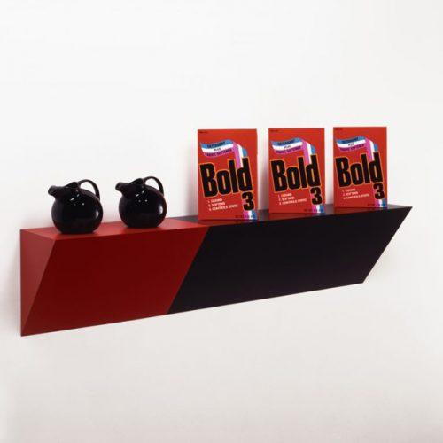 Haim Steinbach supremely black, 1985