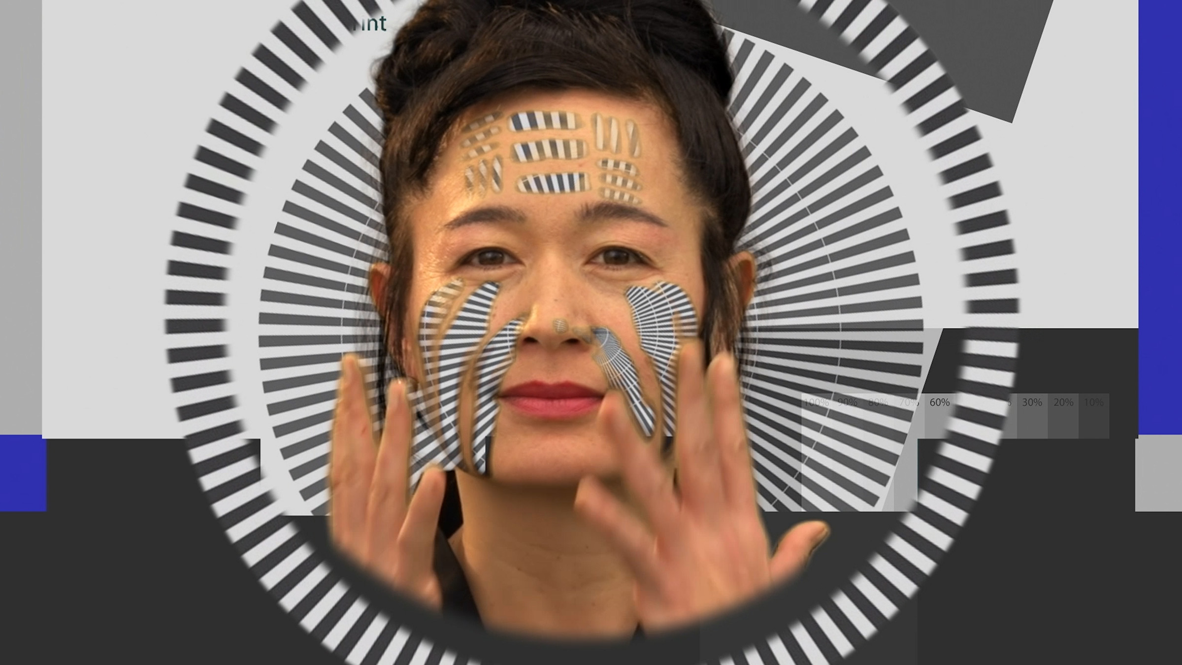 Hito Steyerl, HOW NOT TO BE SEEN: A F**king Didactic Educational .MOV File, 2013. HD video, single screen in architectural environment. Running time: 15 minutes, 52 seconds. Image CC 4.0 Hito Steyerl. Courtesy of Hito Steyerl and Andrew Kreps Gallery, New York. Joseph H. Hirshhorn Purchase Fund, 2016