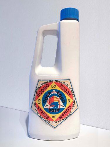 Alan Belcher, $51.49, 1983. Dye transfers on bottles of Solo fabric softener; each 8.75 x 3.75 x 1.875 in (22.22 x 9.52 x 4.76 cm) / 16 ounces. Courtesy Alan Belcher