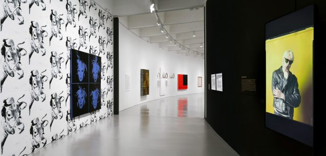 Installation view of Brand New: Art and Commodity in the 1980s at the Hirshhorn Museum and Sculpture Garden, 2018. Photo: Cathy Carver.