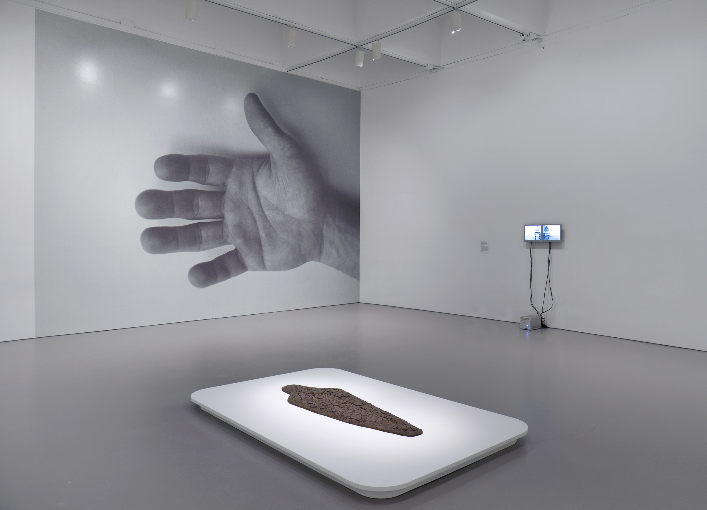 Installation view of What Absence is Made Of