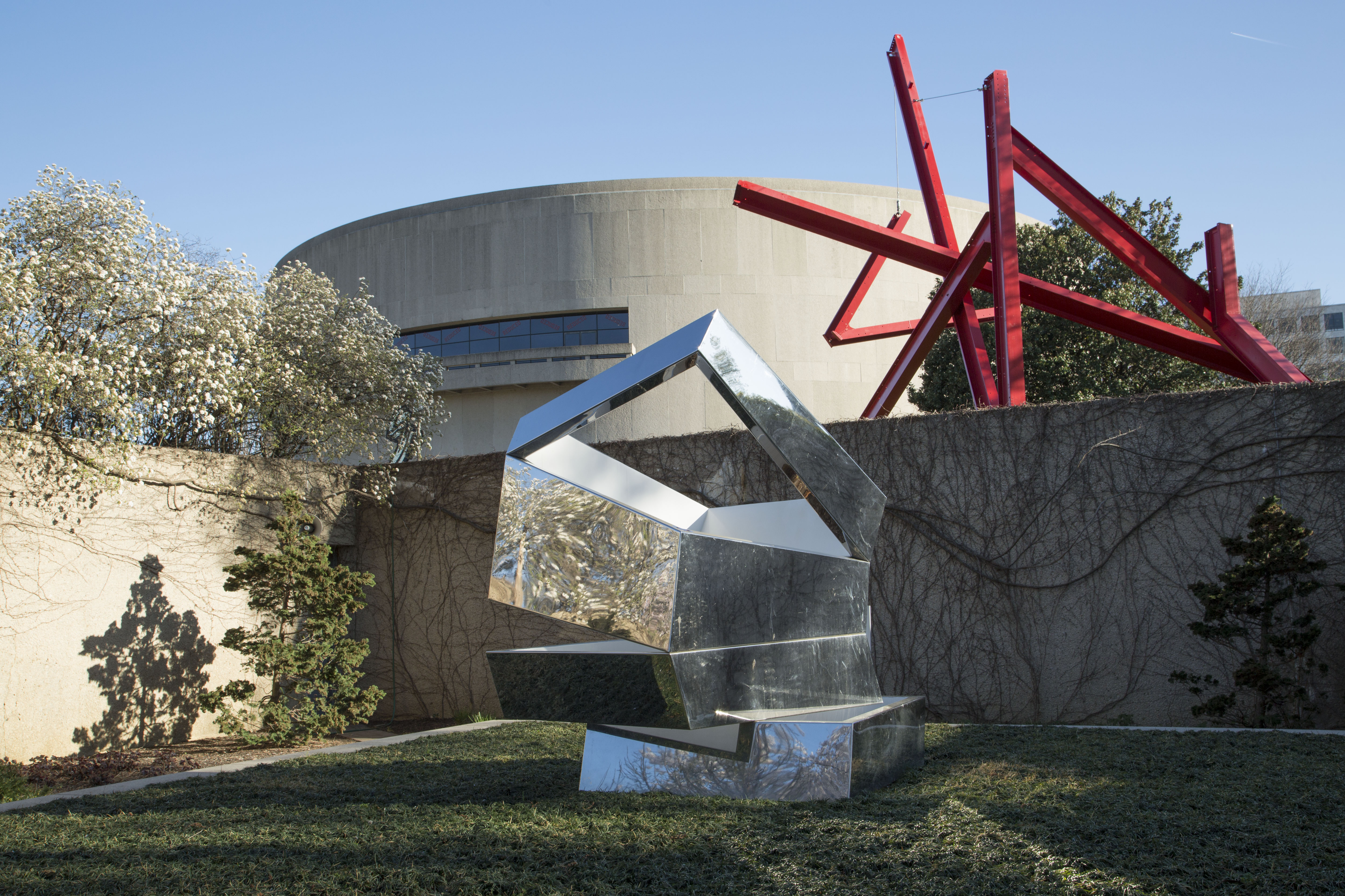 Sculpture Garden in Spring 2016