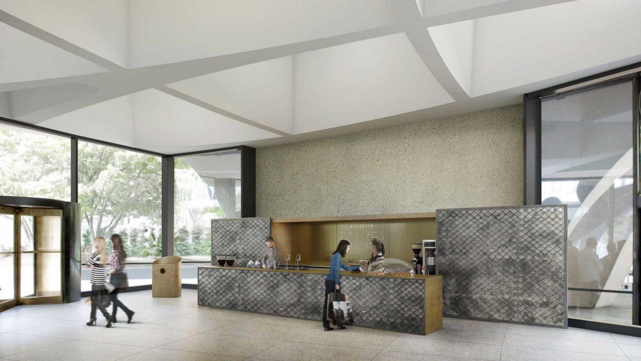 Sugimoto cafe rendering