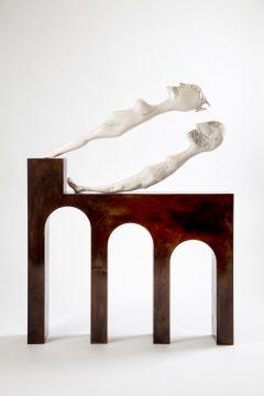 Enrico David, Fortress Shadow,2017 ©Enrico David Courtesy Michael Werner Gallery, New York and London
