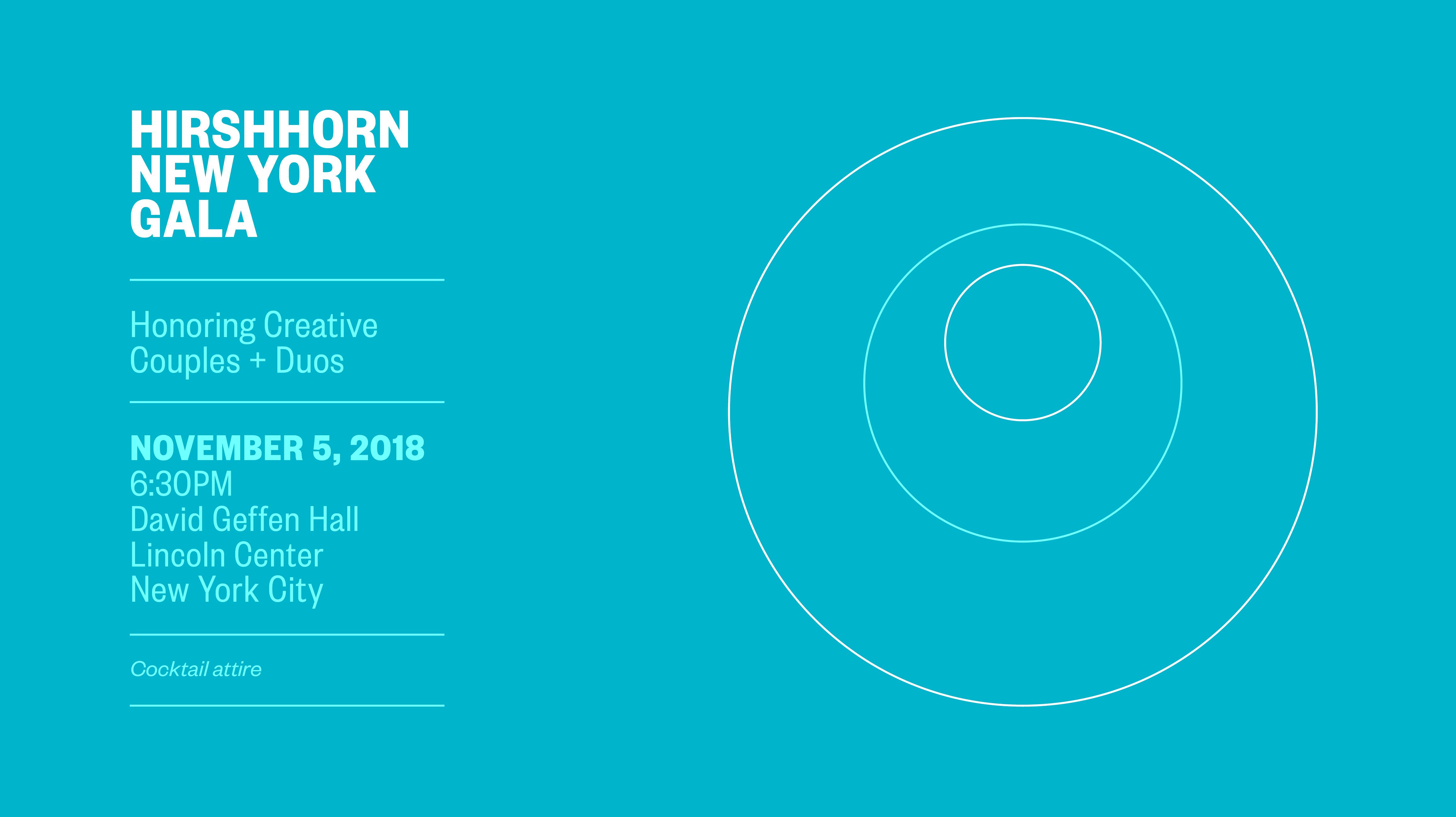 Hirshhorn New York Gala
