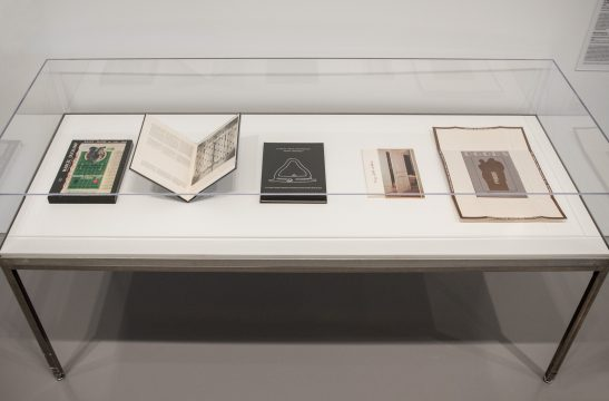 Installation view of Marcel Duchamp: The Barbara and Aaron Levine Collection at the Hirshhorn Museum and Sculpture Garden, 2019. Photo: Lee Stalsworth