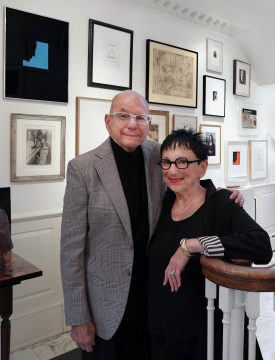 Barbara and Aaron Levine Photo by Cathy Carver