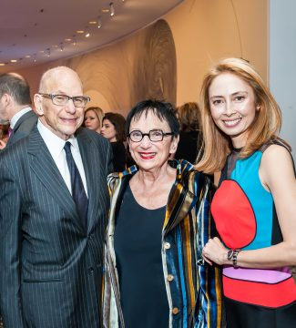 Aaron and Barbara Levine with Hirshhorn Director Melissa Chiu at the Spring Gala, May 6, 2017. Photo © Tony Powell, 2017