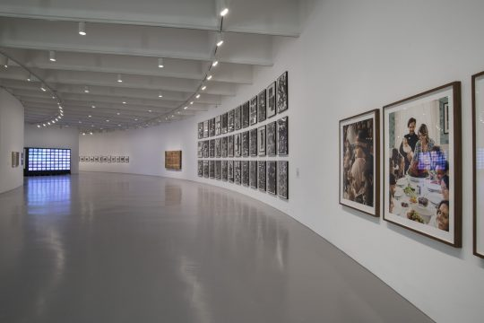 Installation view of Manifesto Art X Agency, Hirshhorn Museum and Sculpture Garden