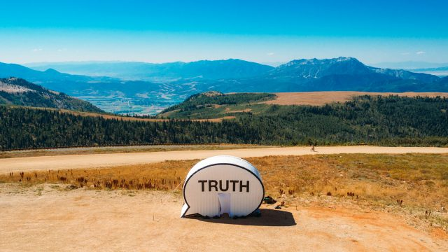 In Search of the Truth (The Truth Booth) by Ryan Alexiev, Hank Willis Thomas, Jim Ricks, Jorge Sanchez, and Will Sylvester