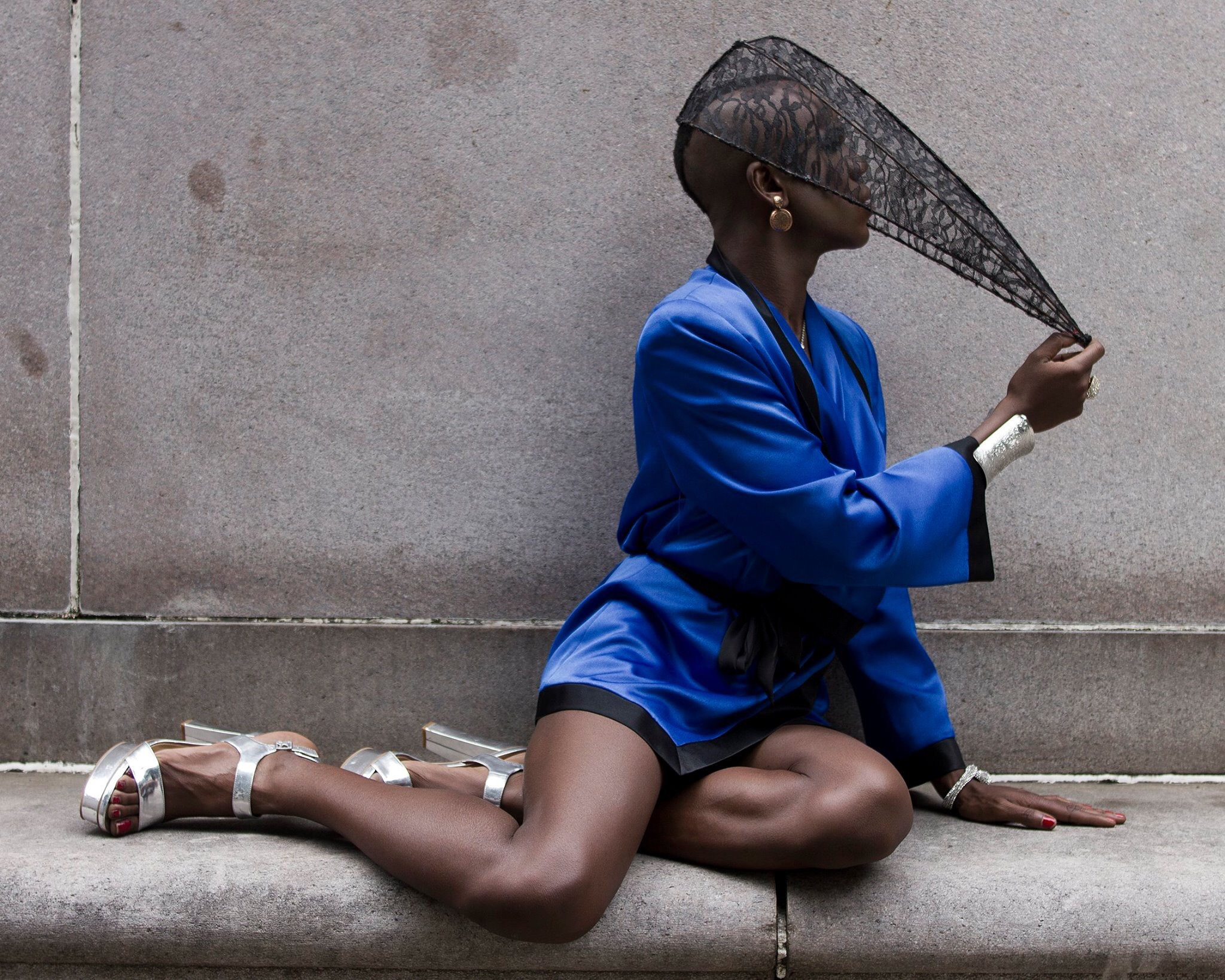Jason Barnes (Pussy Noir). Photo by Robert DeCanio.