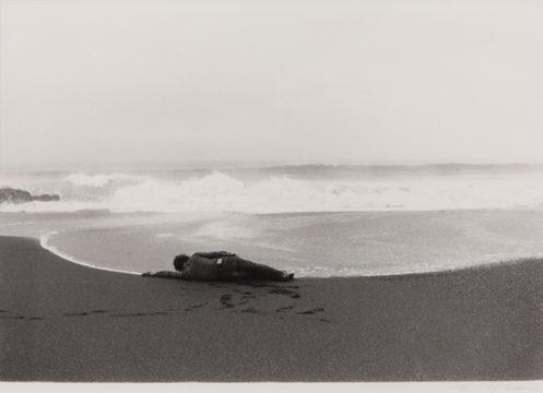 Koji Enokura, Symptom—Sea, Body (P.W.- No. 40), 1972 Gelatin silver print © Michiyo Enokura Courtesy: Alison Bradley Projects, New York, and Tokyo Publishing House, Tokyo