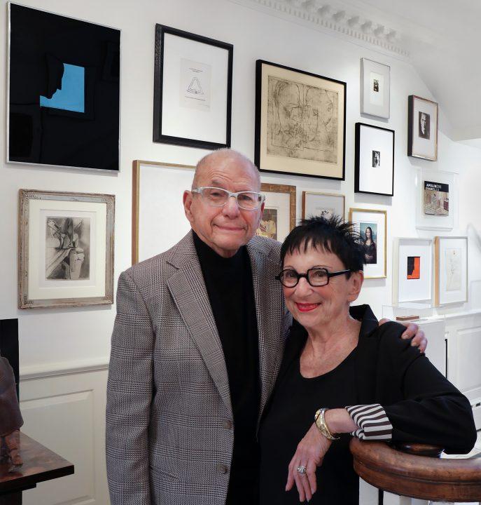 Aaron and Barbara Levine