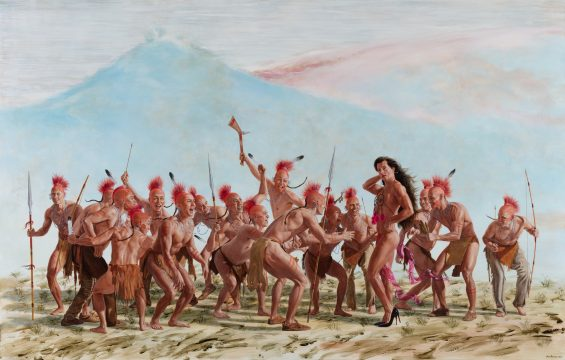 Kent Monkman, Honour Dance
