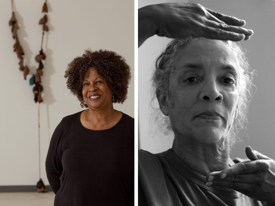 Thumbnail for (At Home) On Art and Collaboration: Artist Talk with Maren Hassinger and Senga Nengudi