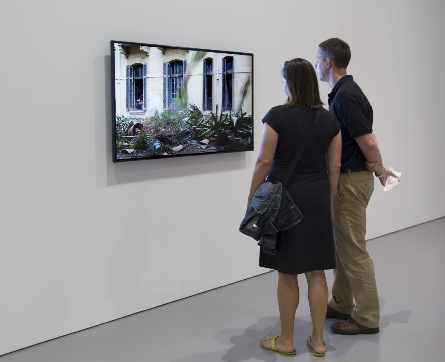 Install shot of Héctor Zamora, O Abuso da História (The Abuse of History), 2014